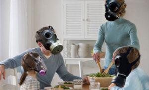 Para evitar la contaminación en casa.