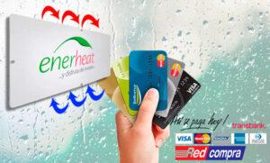 Ahora compra tu calefactor Enerheat con tarjetas y en cuotas.