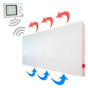 Calefactor-Mural-Metalico-Blanco-Termostato-Digital-Funcionamiento