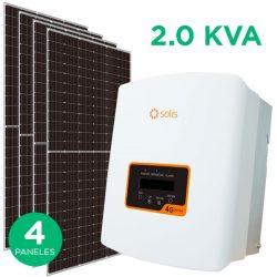 Kit Fotovoltaico 2.0 KVA On-Grid