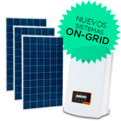 Kits Fotovoltaicos On-Grid (Conectados a la red)