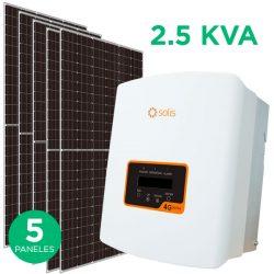 Kit Fotovoltaico 2.5 KVA On-Grid